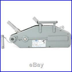 1.6T 20M Treuil manuel Treuil à câble Treuil à main pour remorque auto bateau