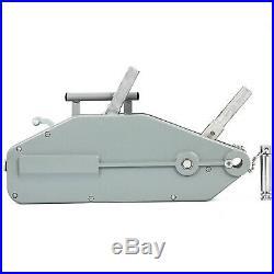 1.6T Treuil Manuel 1600kg 25m Treuil à Câble pour Remorque auto bateau