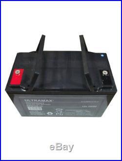 100Ah 12V Gel Deep Cycle Batterie pour Camping-Car, Caravane, Bateau, Éclairage