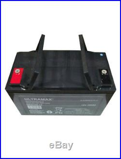100Ah 12V Gel Profond Cycle Batterie pour Camping-Car, Caravane, Bateau, Lampe