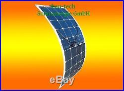 100W 12V Mono Semi Module Solaire Flexible Panneau Solaire pour Bateau