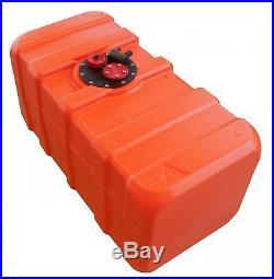 102 L Réservoir à Carburant Intégré pour Bateau Essence avec Multifunktionplatte