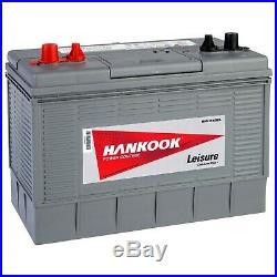 10x Hankook 100Ah Batterie de Loisirs Pour Caravan, Bateau et Camping Car