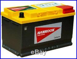 110 Hankook P94RAGM Batterie de Loisirs AGM Pour Camping Car, Bateau