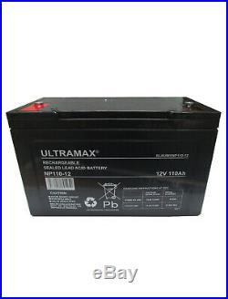 12V 110AH Loisirs / Marine Batterie Ultramax pour Bateau-Maison/ Bateau/ Yacht