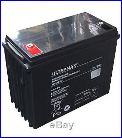12V 130Ah Loisirs / Marine Batterie ULTRAMAX pour bateau-maison/ Bateau/ YACHT