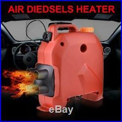12V 5000W Chauffage Réchauffeur D'air Diesel Pour Camping-car Bateaux Camion