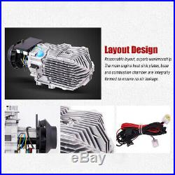 12V 5KW 10L Réchauffeur d'air diesel Chauffage Silencieux Pour Camion RV Bateaux