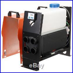 12V 5KW 5000W Diesel Air Heater Intégré Voiture Cahufffage Pour Car Vans bateau