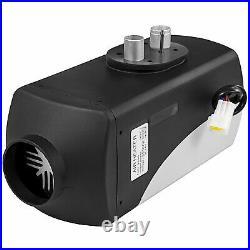 12V 5KW Chauffage Diesel Air Heater Kit avec Télécommande LCD pour Bateau Camion