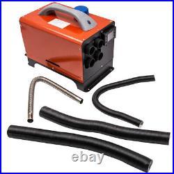 12V 5KW Chauffage Diesel Air Heater avec Kit Caravans Camion Bus Parking Bateau