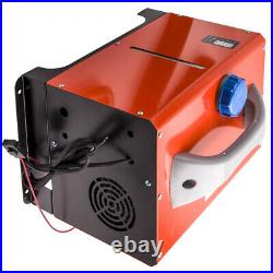 12V 5KW LCD Monitor Air Diesel Fuel Heater Voiture Chauffage pour Camion Bateau
