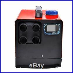 12V 5KW Réchauffeur d'Air Diesel Chauffage Silencieux LCD Pour Bateaux Autobus