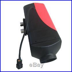 12V 5KW Réchauffeur d'air diesel Chauffage Silencieux LCD Pour RV bateaux Camion
