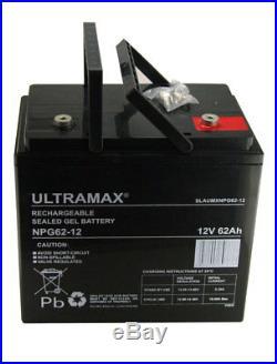 12V 62AH Leisure / Marine Batterie Ultramax pour Bateau-Maison Bateau / Yacht Lm