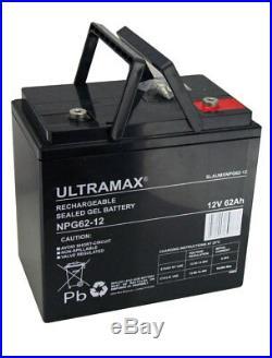 12V 62AH Loisirs / Marine Batterie ultramax pour Bateau-Maison / Boat / Yacht Lm