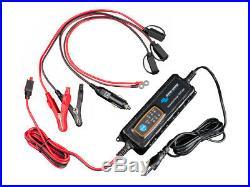12V 75Ah Batterie de Loisirs et 4A Chargeur de Batterie Pour Camping Car, Bateau