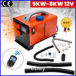 12V 8000W Voiture Chauffage 8KW Air Heater Diesel for Bus Bateau Campervans SUV