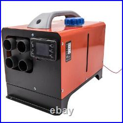 12V 8KW Chauffage Diesel Air Heater avec Kit Caravans Camion Bus Pickup Bateau