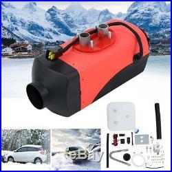 12V Réservoir de Réchauffeur d'Air Diesel 2KW pour camping-car bateaux Camions