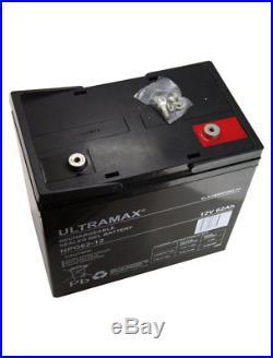 12v 62ah Loisirs / Marine Batterie Ultramax pour Bateau-Maison/ Bateau/ Yacht Lm