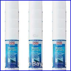 12x Liqui Moly Marine Brillant Spray Bateau Nettoyant pour Sceller Cire 400 ML