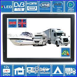 14 Pouce 12V & 240V LCD TV Tnt HD USB & Pvr Idela pour Mobile-Home Bateaux Etc