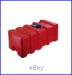 140 L Réservoir à Carburant Intégré pour Bateau Essence avec Multifunktionplatte