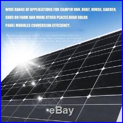1PCS 150W 18V Panneau Solaire Cellule Flexible Souple Pour Camping Car Bateau