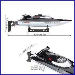 2.4G 50 km/h RC Bateau Vitesse Réglable Brushless RC Speedboat Pour Enfant Jouet