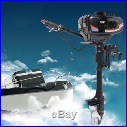 2.5KW 3.5 CV 2 TEMPS Moteur essence pour bateau arbre court Moteur hors-bord Pro
