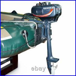 2 Temps 3.5 HP Outboard Motor Moteur Hors-Bord pour Bateau Moteur Boat Engine