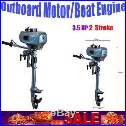 2 temp 3.5CV Moteur Hors Bord Moteur hors-bord pour barque Bateau Pneumatique de
