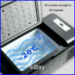 20L Portable Mini Réfrigérateur Frigo 12V/24V pour Camping Voiture Bateau