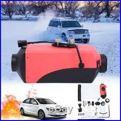 2KW 12V Chauffage de l'Air Diesel Silencieux pour Camion Bateau Voiture