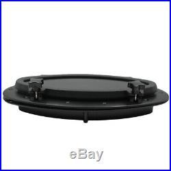 2xblack hublot ovale 16 x 8 pour bateau