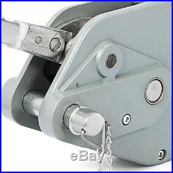 3.2T Treuil à Câble Treuil à Main Multifonctios pour Remorque Auto Bateau