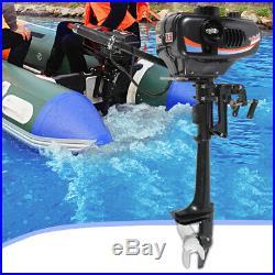 3.5 CV 2 TEMPS Moteur essence pour bateau arbre court Moteur hors-bord 2500W DHL