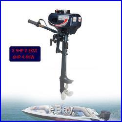 3.5 CV 2 TEMPS Moteur essence pour bateau arbre court Moteur hors-bord DHL