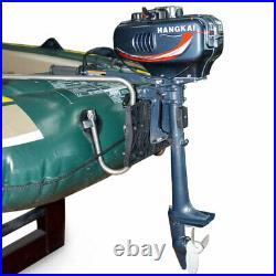 3,5HP 2Temps Moteur hors-bord moteur pour bateau+système&CDI Water Cooling DHL 1