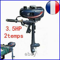 3.5HP 2temps Moteur hors-bord Moteur pour bateau+Système CDI Water Cooled Motor
