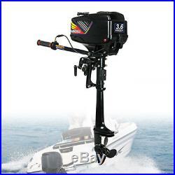 3.6 HP 2temps Moteur hors-bord pour bateau à refroidissement par eau + CDI DE