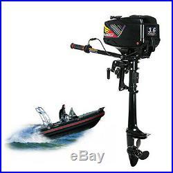 3,6CV 2 TEMPS Moteur essence pour bateau arbre court Moteur hors-bord DHL