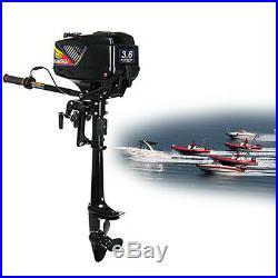 3,6CV 2 TEMPS Moteur essence pour bateau arbre court Moteur hors-bord Water-cool