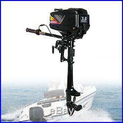 3,6CV 2TEMPS Moteur essence pour bateau Moteur hors-bord refroidissement par eau