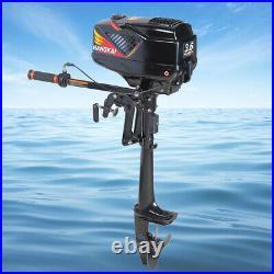 3.6HP 2TEMPS Moteur essence pour bateau arbre Court Moteur hors-bord CDI System