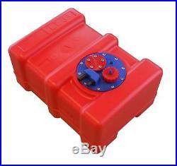 33 L Réservoir à Carburant Intégré pour Bateau Essence Avec Multifunktionplatte