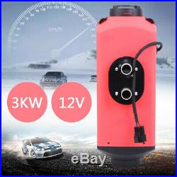 3KW 12V Chauffage Réchauffeur d'air diesel Silencieux Pour camping-car bateaux