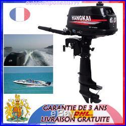 4.4kW 6CV Moteur Pour Barque Moteur Hors-Bord Moteur De Bateaux Boat Motor DHL