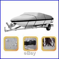 4XHousse pour bateau Couverture de Bateau de Peche Remorque Ski Impermeable I5